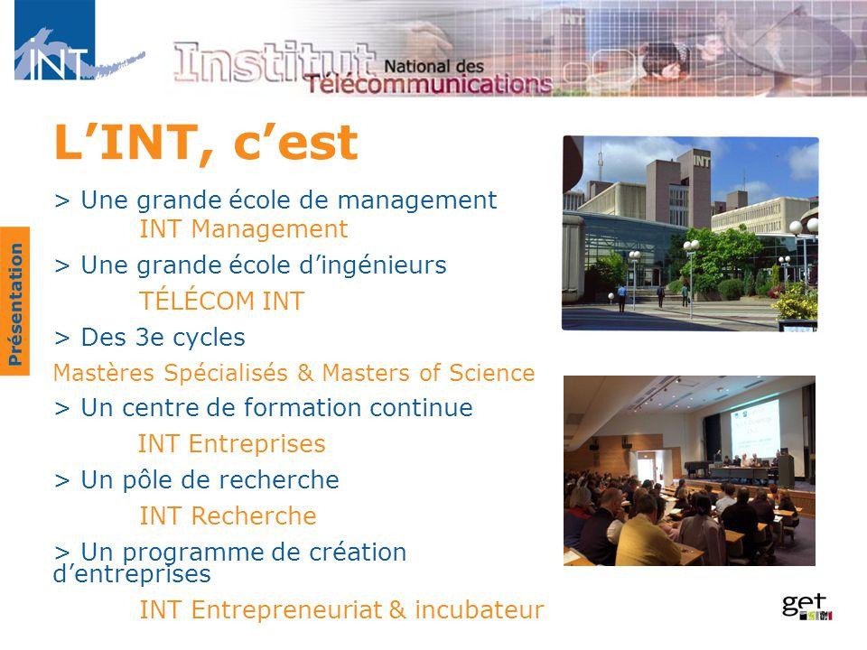 L'INT, c'est > Une grande école de management INT Management