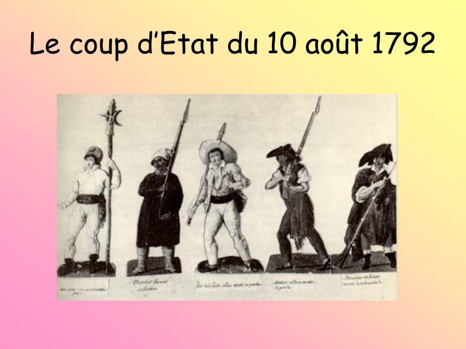 Le coup d'Etat du 10 août 1792