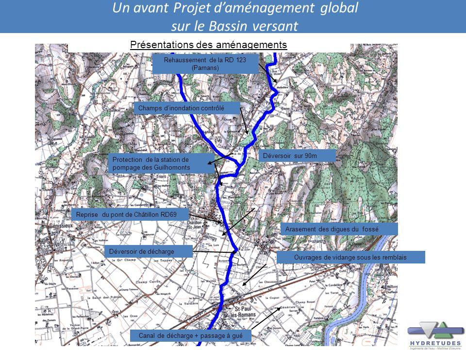Un avant Projet d'aménagement global sur le Bassin versant