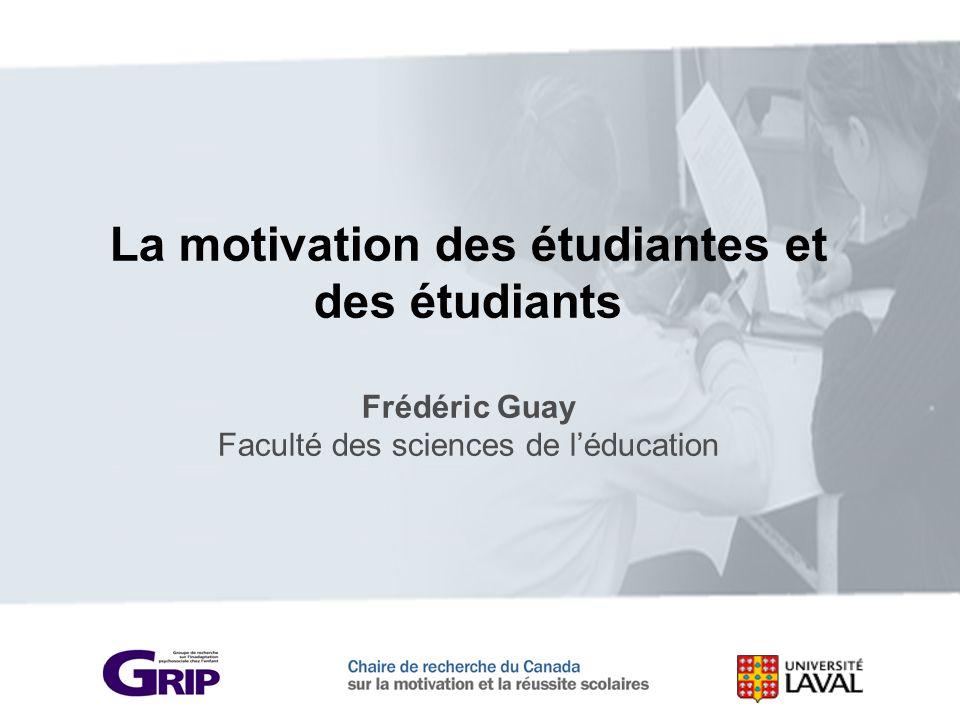 La motivation des étudiantes et