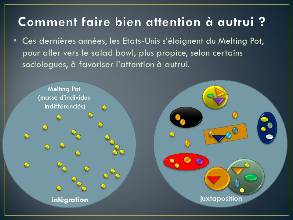 Comment faire bien attention à autrui