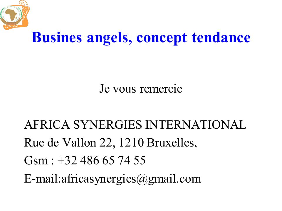 Busines angels, concept tendance
