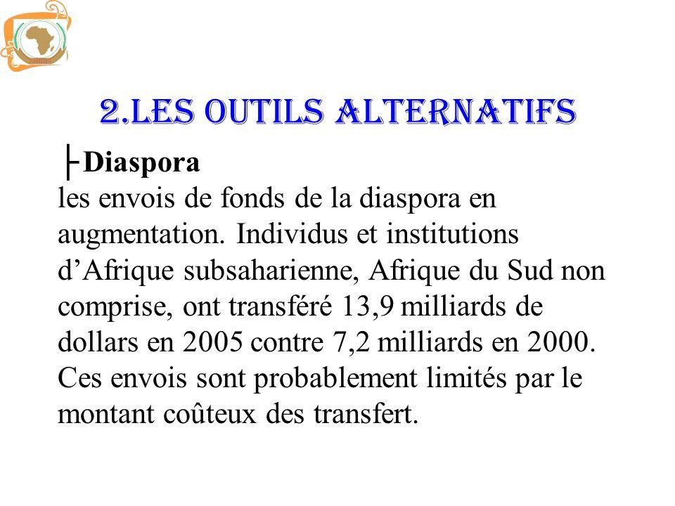 2.LES OUTILS ALTERNATIFS