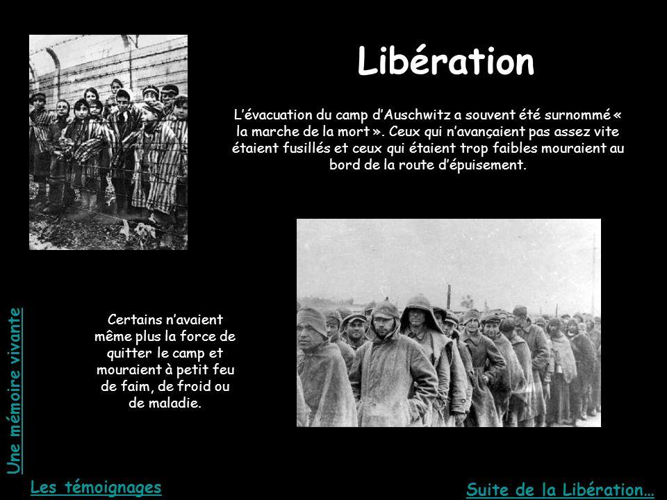 Libération La libération Une mémoire vivante Les témoignages