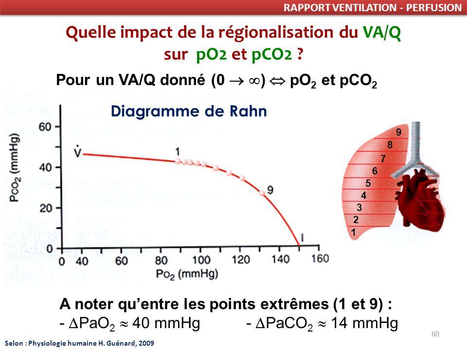 Quelle impact de la régionalisation du VA/Q
