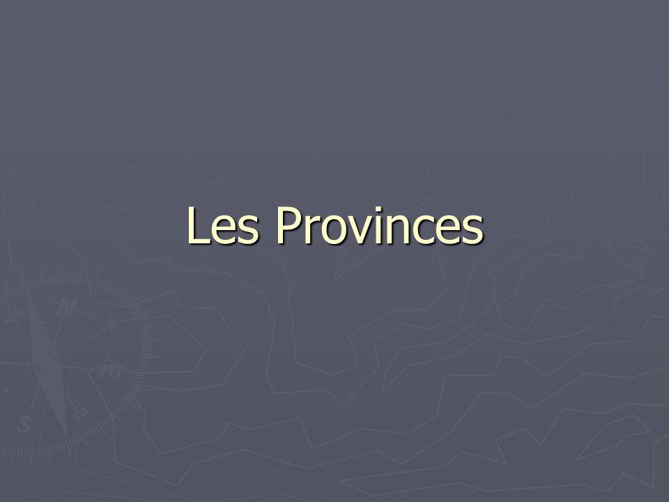 Les Provinces