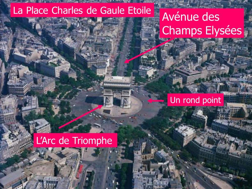 Avénue des Champs Elysées La Place Charles de Gaule Etoile