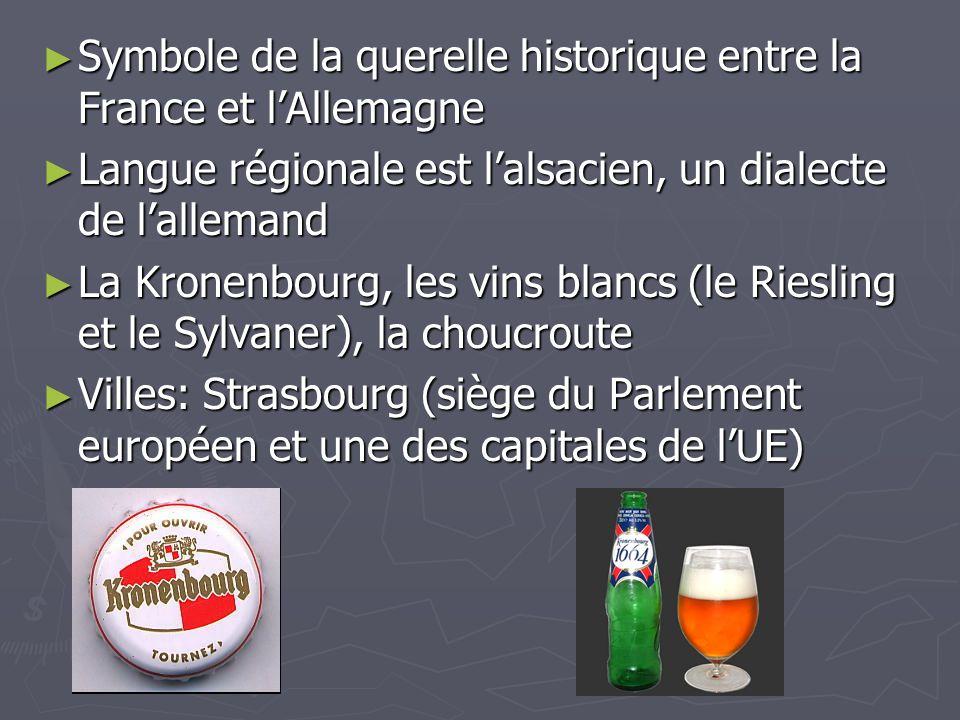 Symbole de la querelle historique entre la France et l'Allemagne