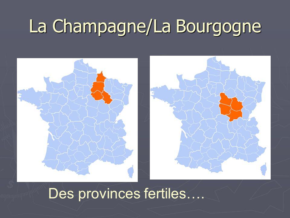 La Champagne/La Bourgogne