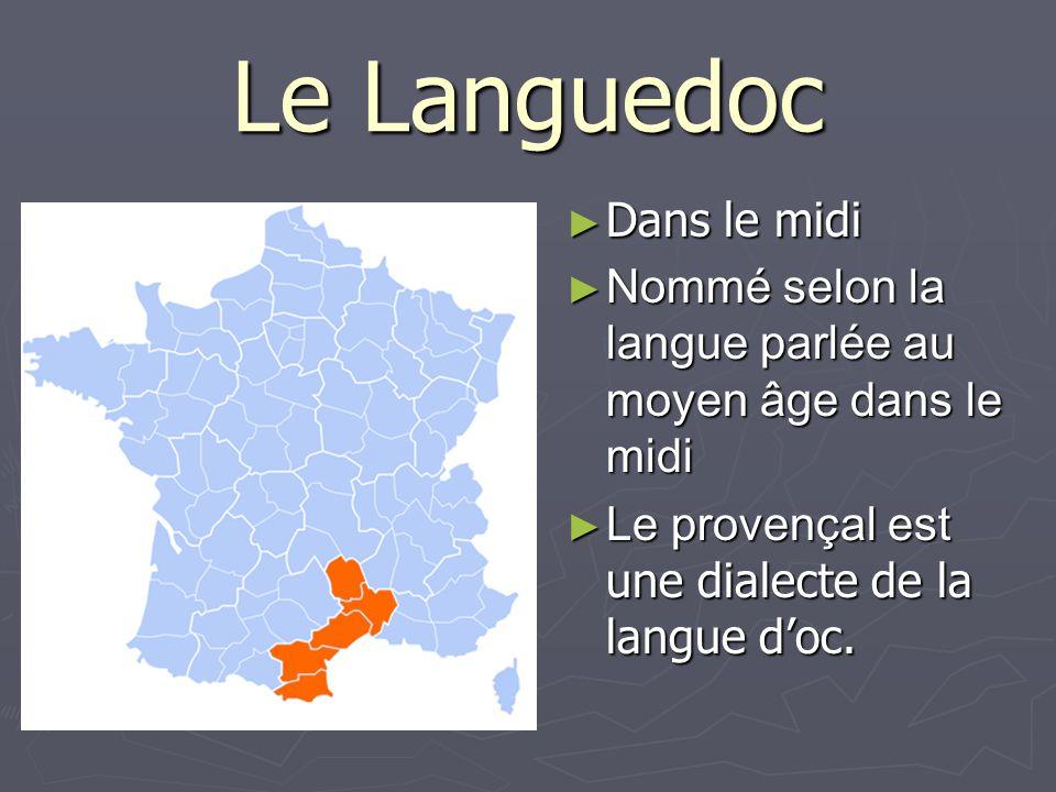 Le Languedoc Dans le midi