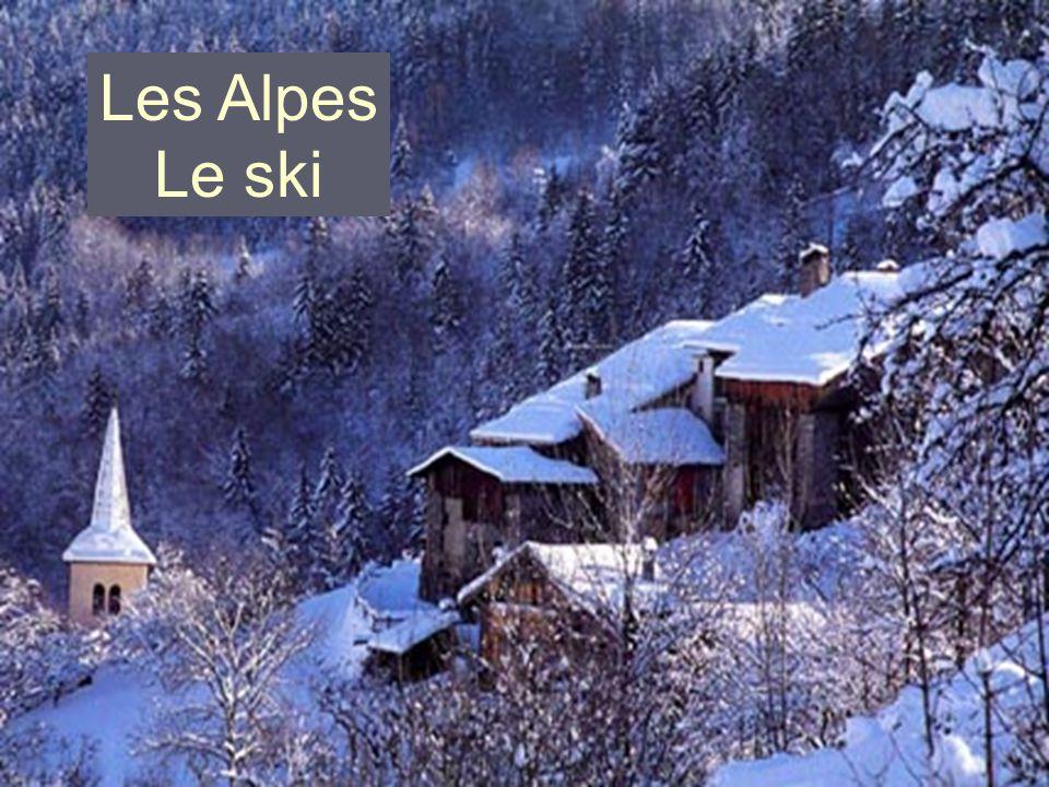 Les Alpes Le ski
