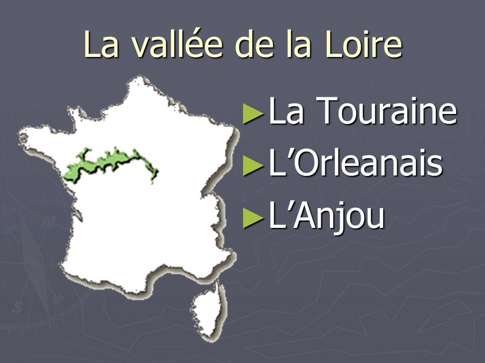La vallée de la Loire La Touraine L'Orleanais L'Anjou