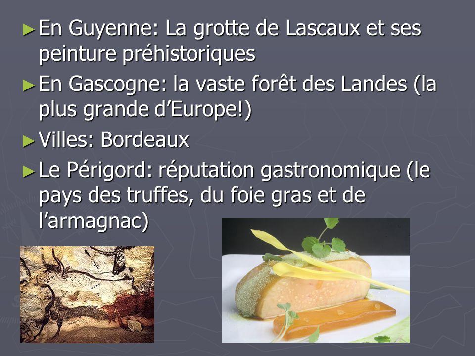 En Guyenne: La grotte de Lascaux et ses peinture préhistoriques