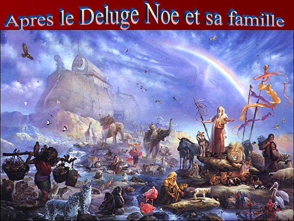 Apres le Deluge Noe et sa famille