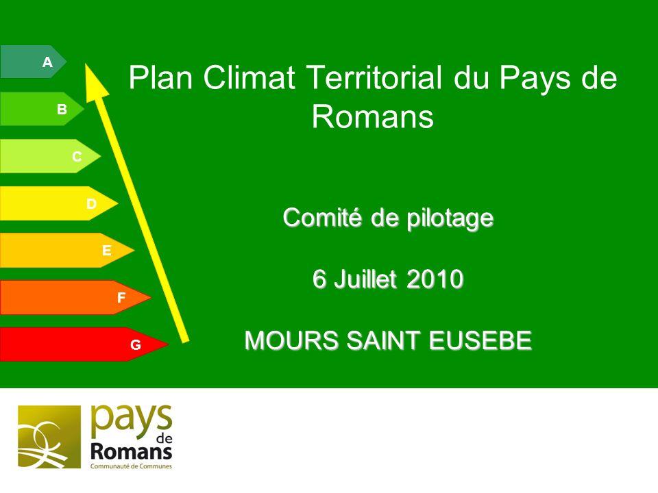 Plan Climat Territorial du Pays de Romans
