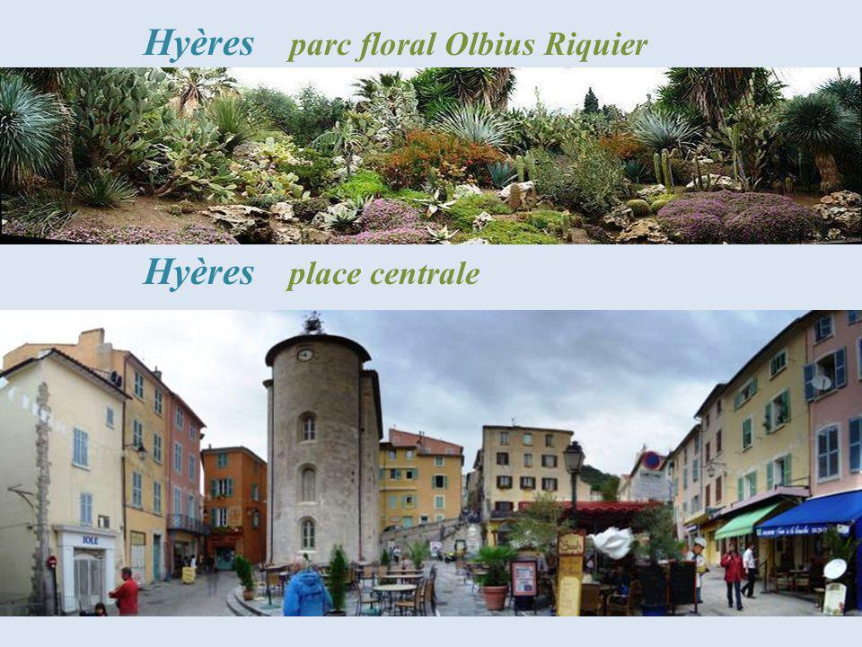 Hyères parc floral Olbius Riquier