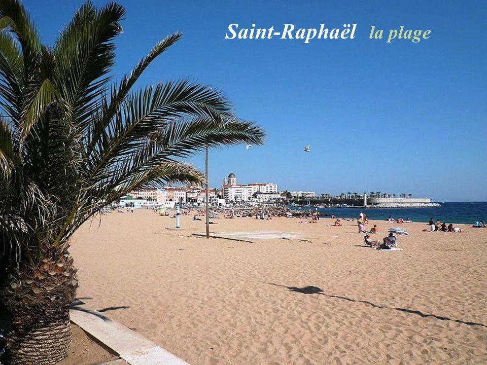 Saint-Raphaël la plage
