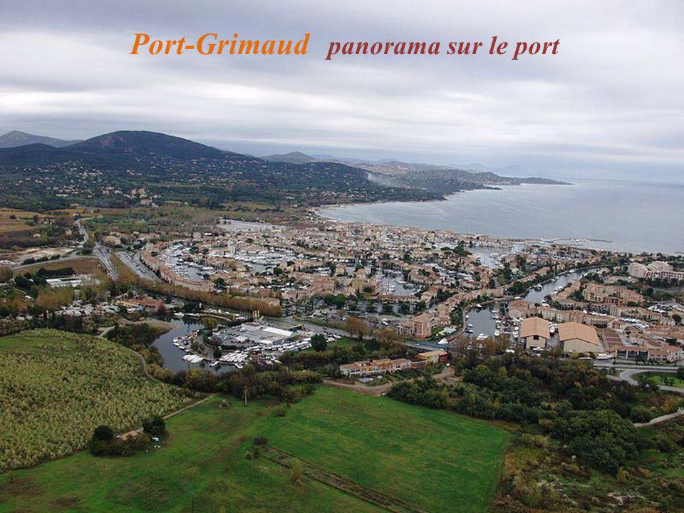 Port-Grimaud panorama sur le port