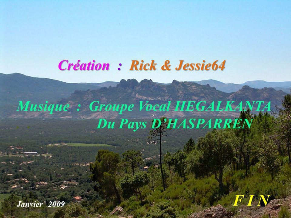 F I N Création : Rick & Jessie64