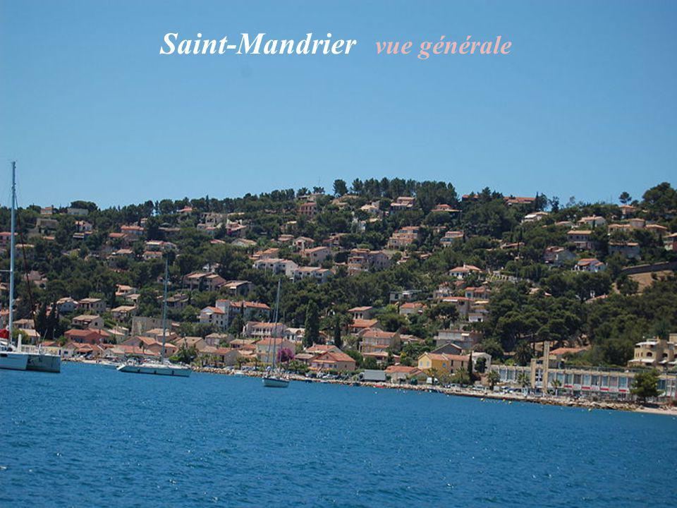 Saint-Mandrier vue générale