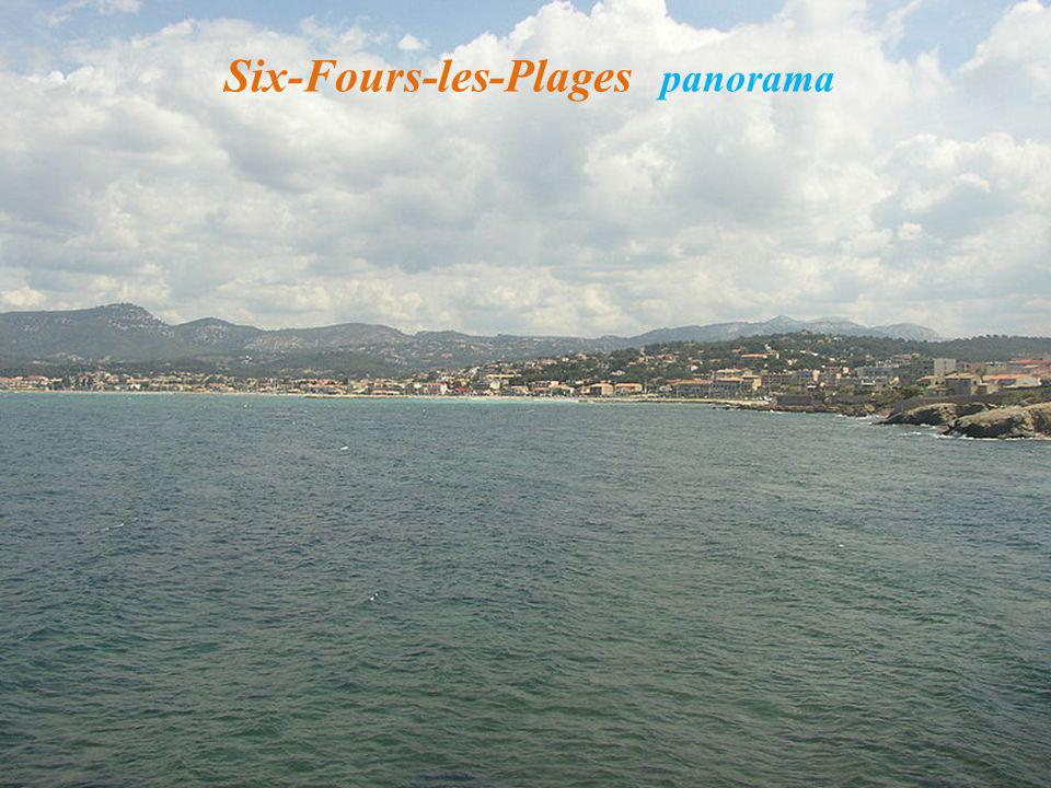 Six-Fours-les-Plages panorama