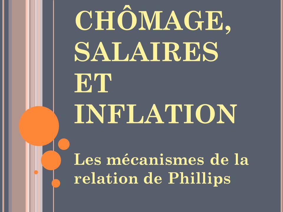 CHÔMAGE, SALAIRES ET INFLATION