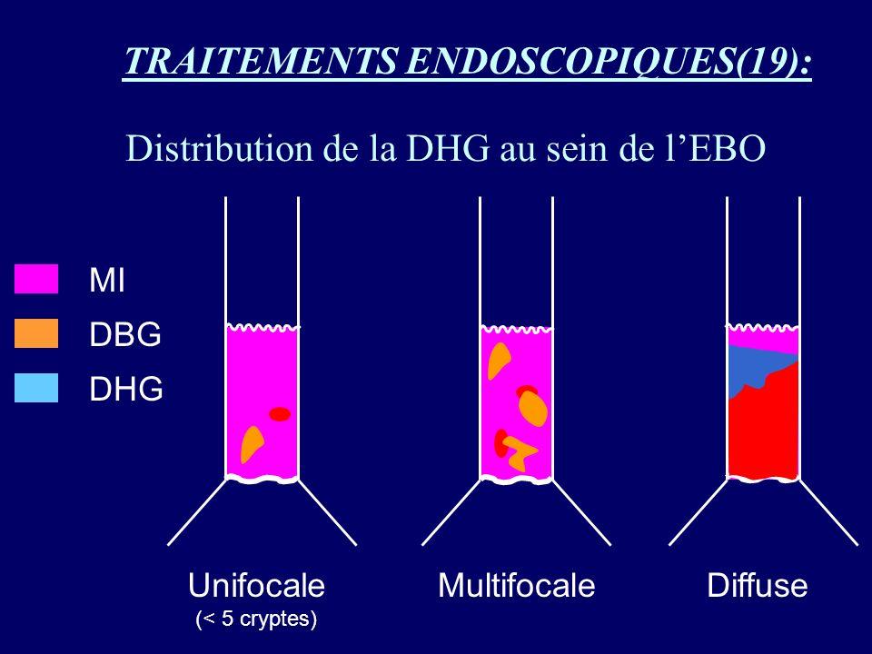 Distribution de la DHG au sein de l'EBO