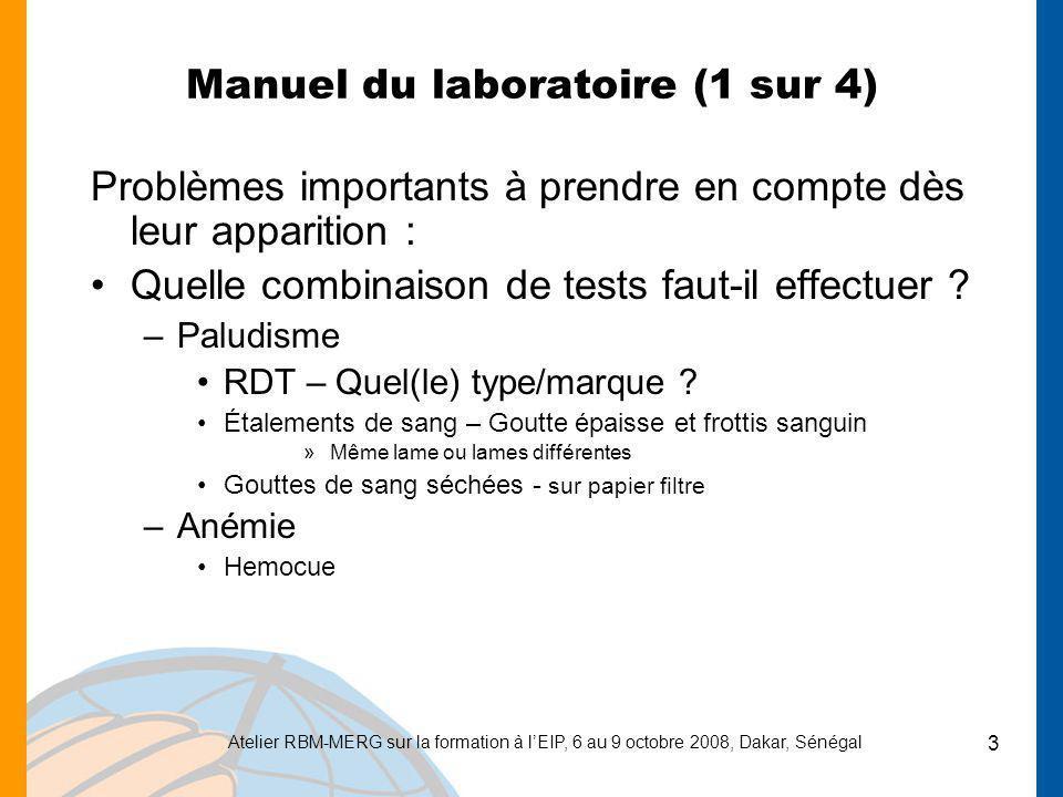 Manuel du laboratoire (1 sur 4)