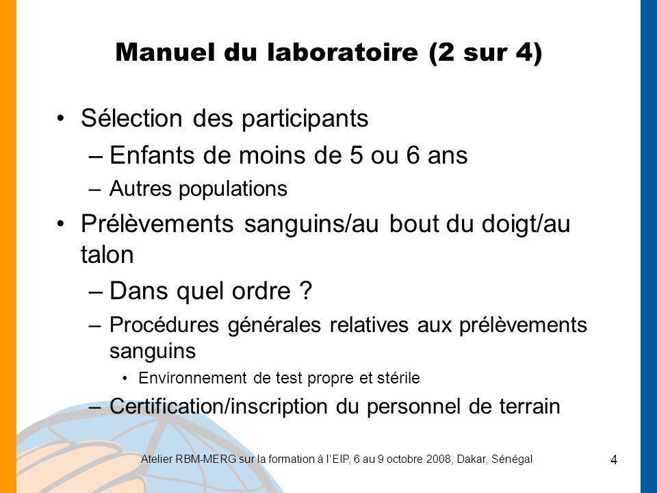 Manuel du laboratoire (2 sur 4)