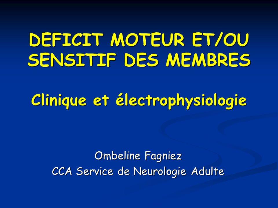 Ombeline Fagniez CCA Service de Neurologie Adulte