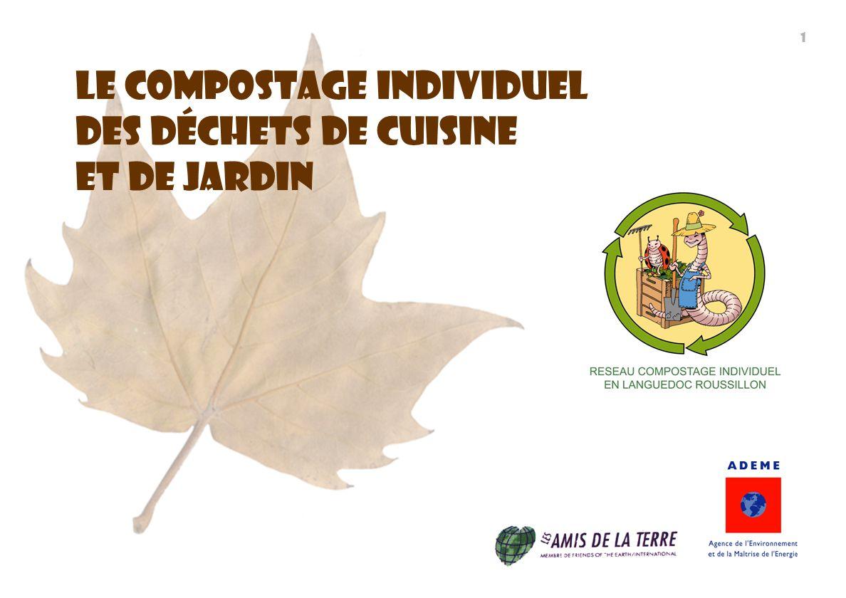 Le Compostage individuel Des déchets De cuisine et de Jardin