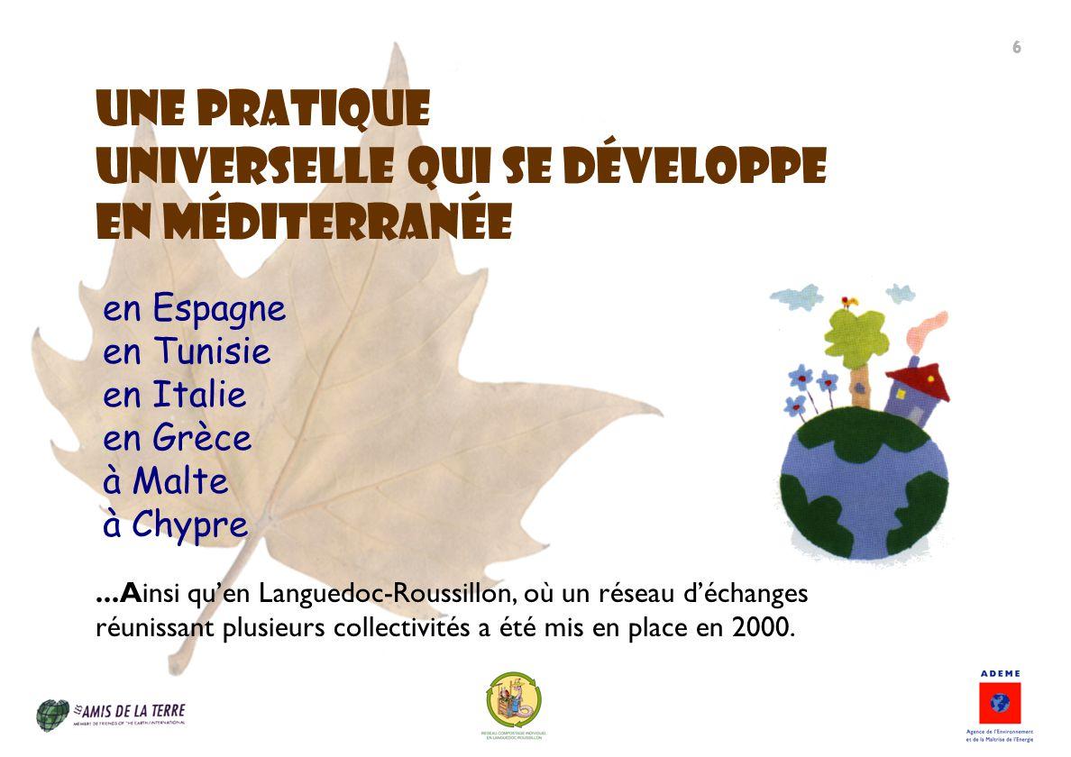 universelle qui se développe en méditerranée