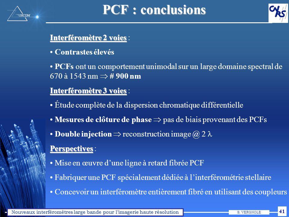 Plan de l'exposé I. Les fibres optiques en interférométrie II. `OHANA