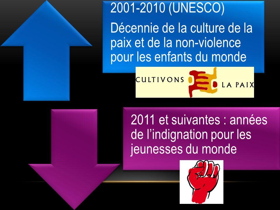 Décennie de la culture de la paix et de la non-violence pour les enfants du monde