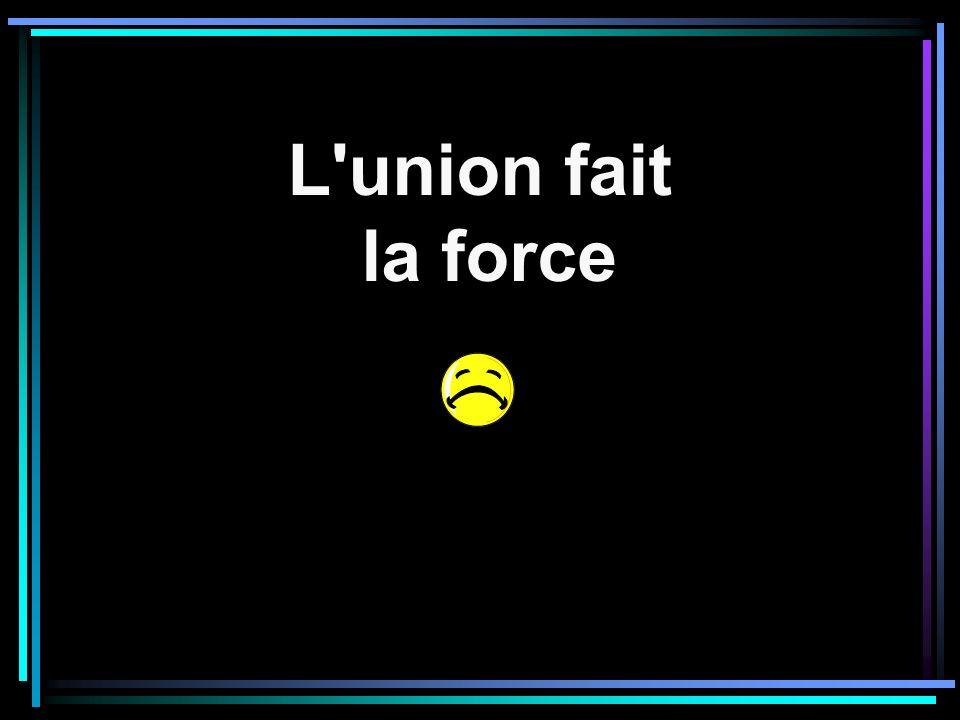 L union fait la force