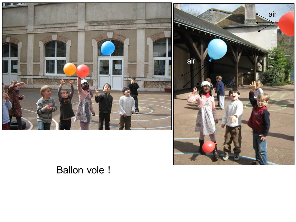 air air Ballon vole !