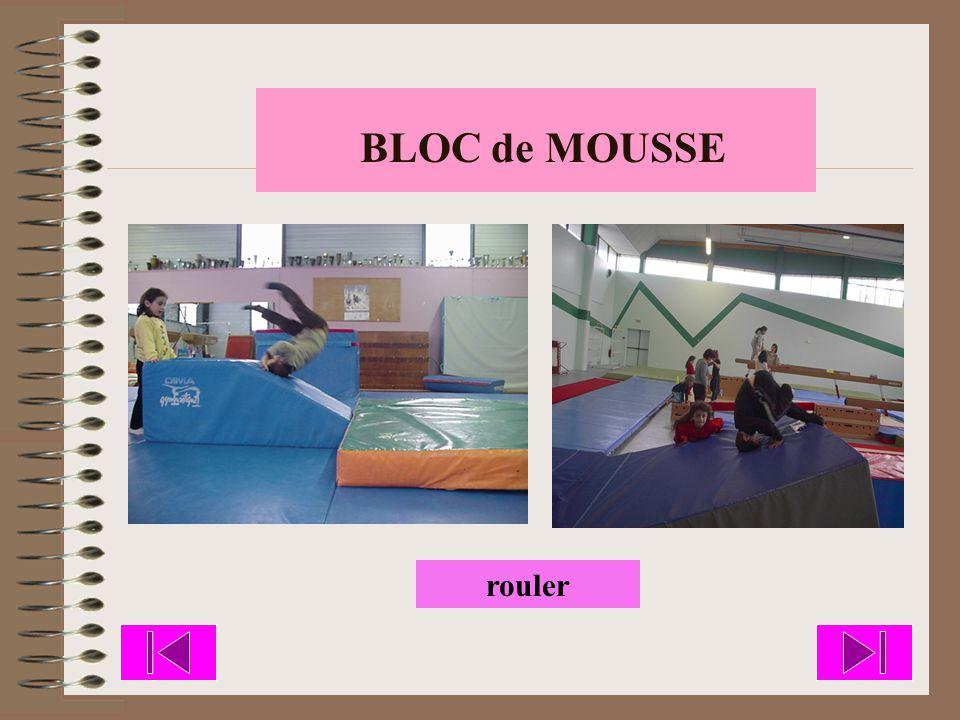 BLOC de MOUSSE rouler