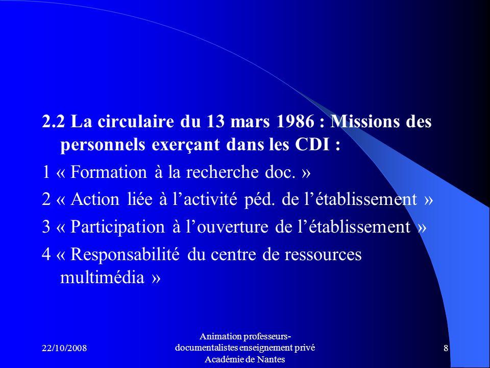1 « Formation à la recherche doc. »