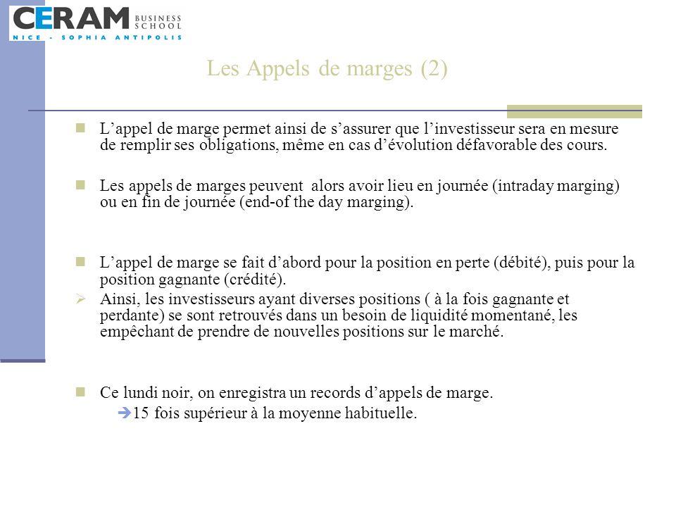 Les Appels de marges (2)