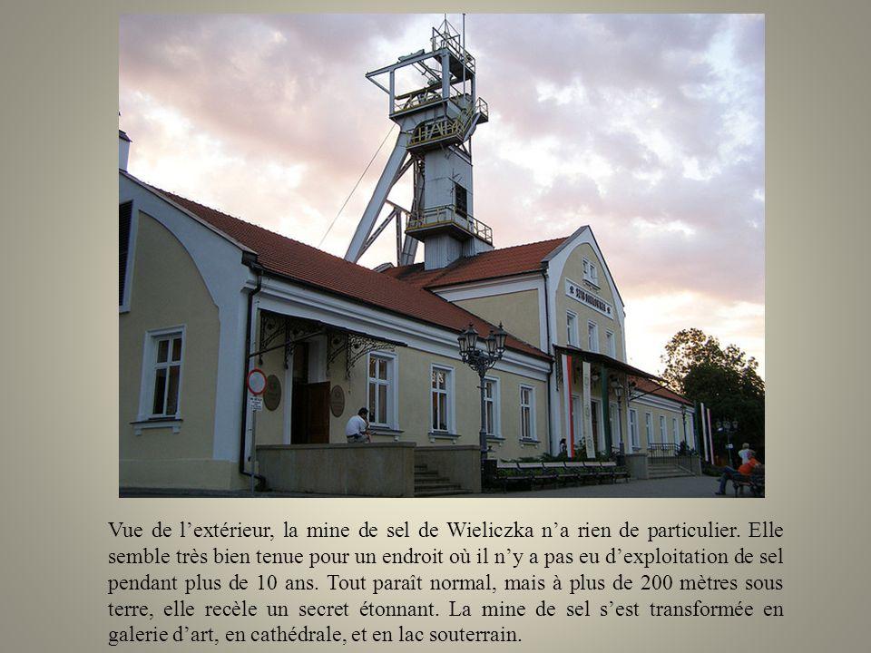 Vue de l'extérieur, la mine de sel de Wieliczka n'a rien de particulier.