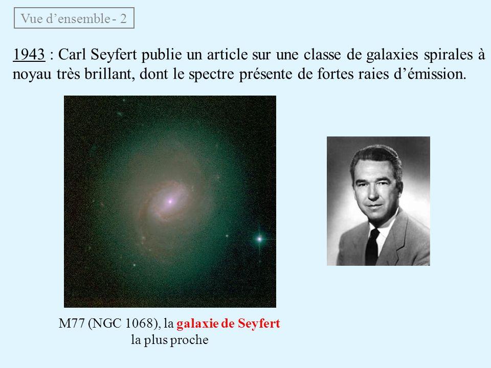M77 (NGC 1068), la galaxie de Seyfert la plus proche