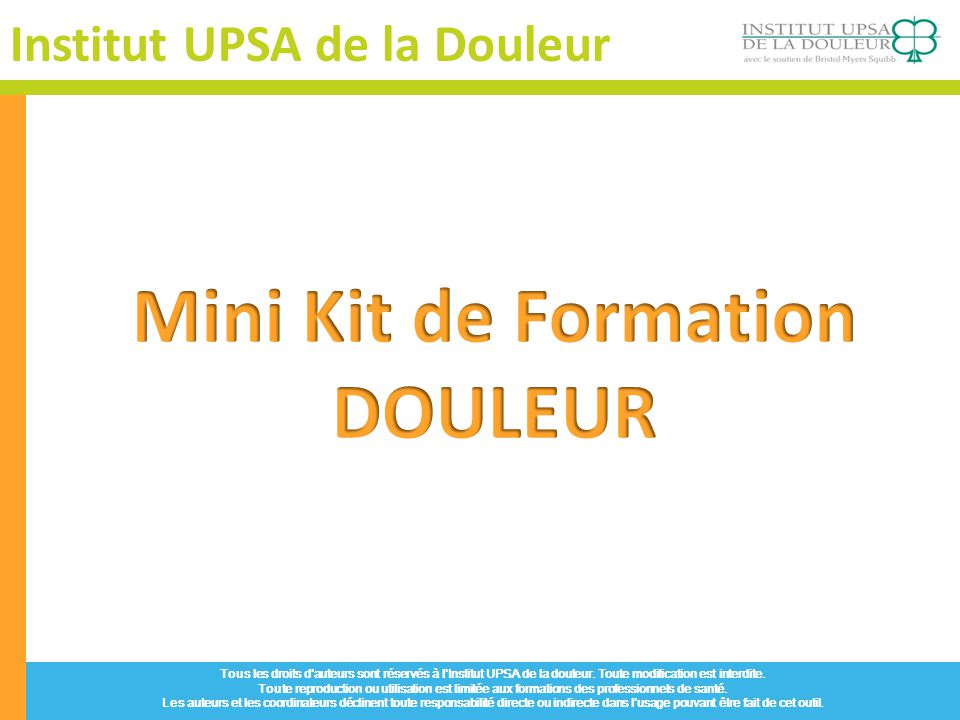 Mini Kit de Formation DOULEUR