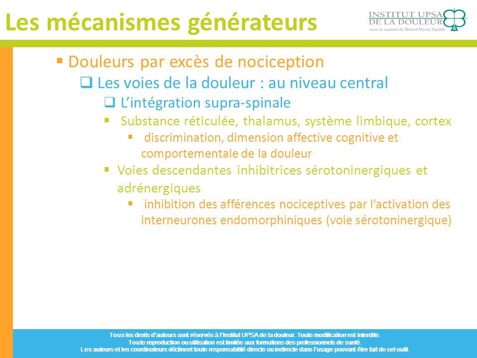 Les mécanismes générateurs