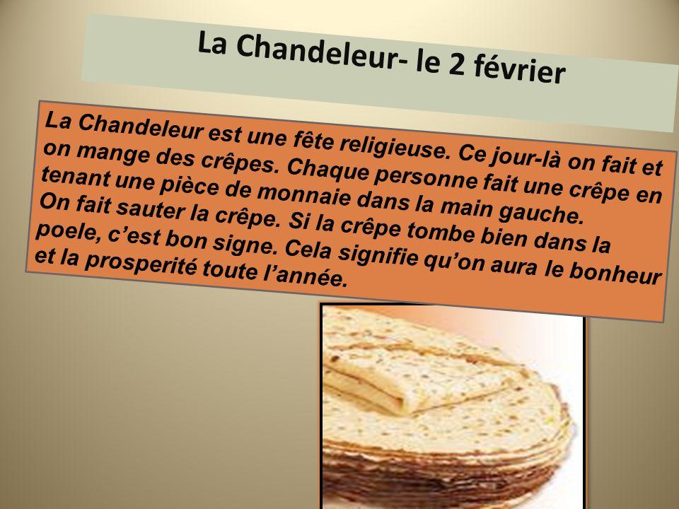 La Chandeleur- le 2 février