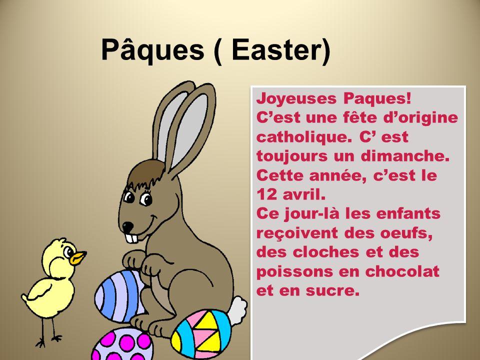Pâques ( Easter) Joyeuses Paques!