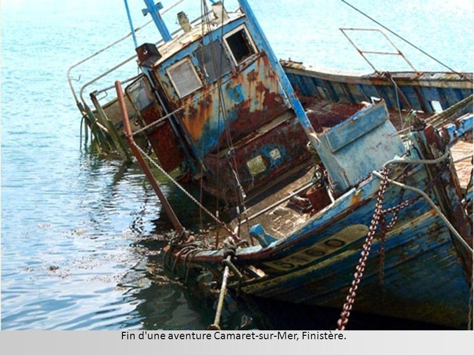 Fin d une aventure Camaret-sur-Mer, Finistère.