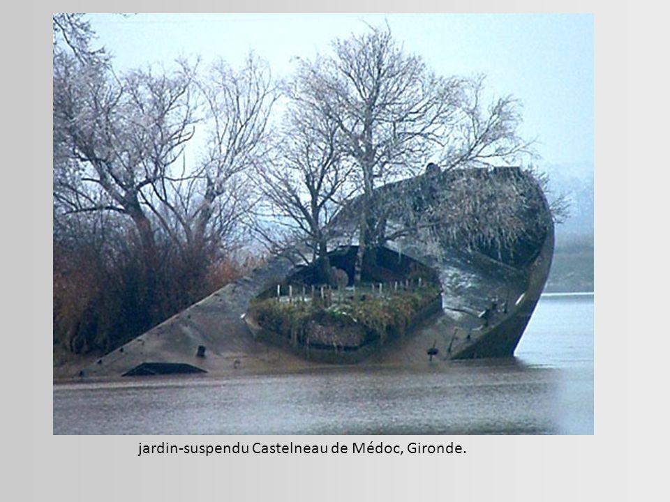 jardin-suspendu Castelneau de Médoc, Gironde.