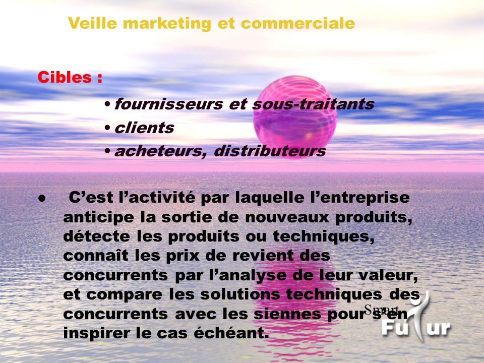 Veille marketing et commerciale