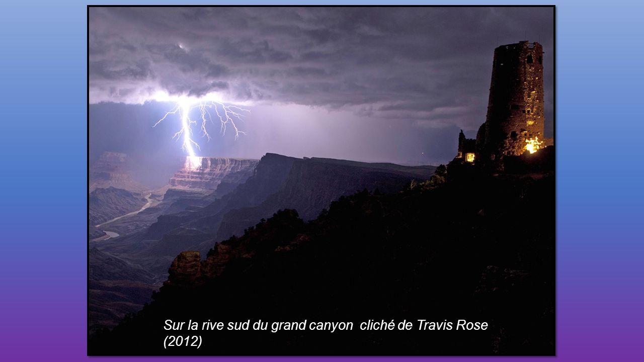 Sur la rive sud du grand canyon cliché de Travis Rose (2012)