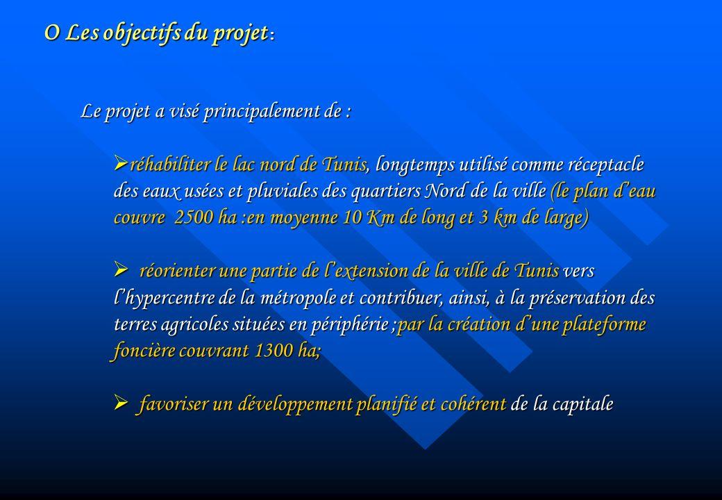 O Les objectifs du projet :